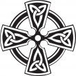 Celtic Cross — Vector de stock #4762837
