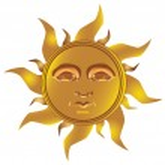 Mayan Incan sun - Maya, vector — Stock Vector #4763672