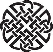 Irish Celtic design — Stock Vector