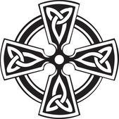 Keltský kříž — Stock vektor