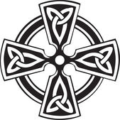 凯尔特十字 — 图库矢量图片
