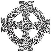 Celtic Cross — Stock Vector
