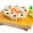 Stock Photo: Japanese cuisine: seafoods and other