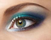 Серо голубо зеленые глаза макияж фото