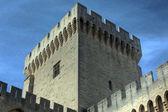 Detalle de un castillo medieval — Foto de Stock