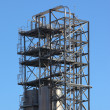 Royalty-Free Stock Photo: Tower in a oil refinery