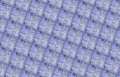 Detail of a silicon wafer — Stock Photo