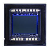 CCD sensor macrophotography — Stock Photo