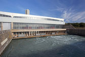 Hydroelectric facility — Stock Photo