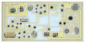 Eski elektronik devre — Stok fotoğraf