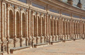Curved facade perspective — Stock Photo
