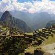 Machu Picchu panorama — Stock Photo