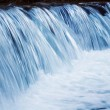 Waterfall closeup - Stock Photo