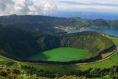 圣地亚哥 - 塞 cidades 环礁湖圣米格尔、 亚速尔群岛 — 图库照片