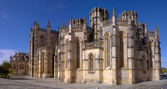 Batalha Monastery panoramic — Stock Photo