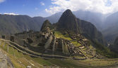 Panorama de Machu picchu — Photo
