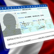 French nationality (male) 1 — Stock Photo