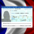 French nationality (female) 2 — Stock Photo