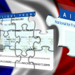 Stock Photo: Obtaining French nationality