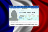 French nationality (female) 2 — Stock fotografie