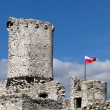 Stock Photo: Old castle ruins
