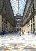 Galleria umberto di napoli — Foto Stock
