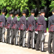 Oslo guard change — Stock Photo #5207200