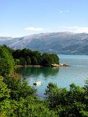 Norwagian fjordu — Stock fotografie