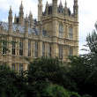 Palace of Westminster London - Stock Photo