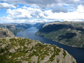 Norway, trail to Preikestolen — Stock Photo