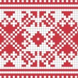 Ethnic Ukrainian ornamental pattern #6 — Stock Vector