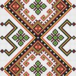 Cтоковый вектор: Ukrainiethnic seamless ornament, #9, vector
