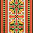 Stock Vector: Ethnic Ukrainiornamental pattern #12