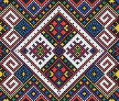 Ukrainian ethnic seamless ornament, #10, vector — Stock Vector