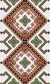 Ukrainian ethnic seamless ornament, #9, vector — Vector de stock