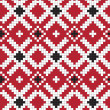 Stock vektor: Ethnic Ukraine seamless pattern #26