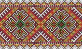 Ukrainian ethnic seamless ornament, #27, vector — Vector de stock