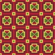 Ethnic Ukrainiornamental pattern #32 — Vecteur #5367486