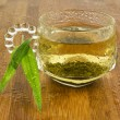 Refreshing Natural Green Tea — Stock Photo