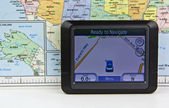 GPS- Mobile — Stock Photo