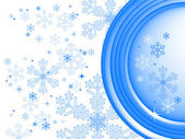 Winter hintergrund, vektor — Stockvektor
