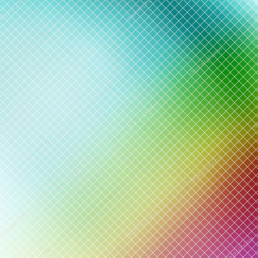 多彩马赛克抽象背景,没有渐变矢量– 图库插图