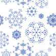 Seamless pattern, snowflakes — Stock Vector #5338391