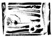 Uppsättning av penseldrag, fläckar, stänk, vektor — Stockvektor