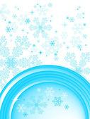 Winter background, vector — Stock Vector