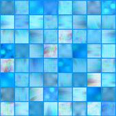 Mosaic tiles, vector — Stock Vector