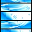 Stock Vector: Winter banner, vector