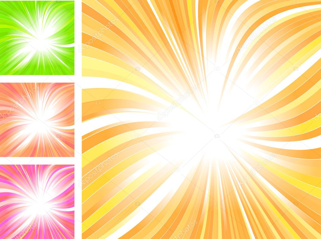 Beautiful glow, vector abstract background — Stock vektor #5351125