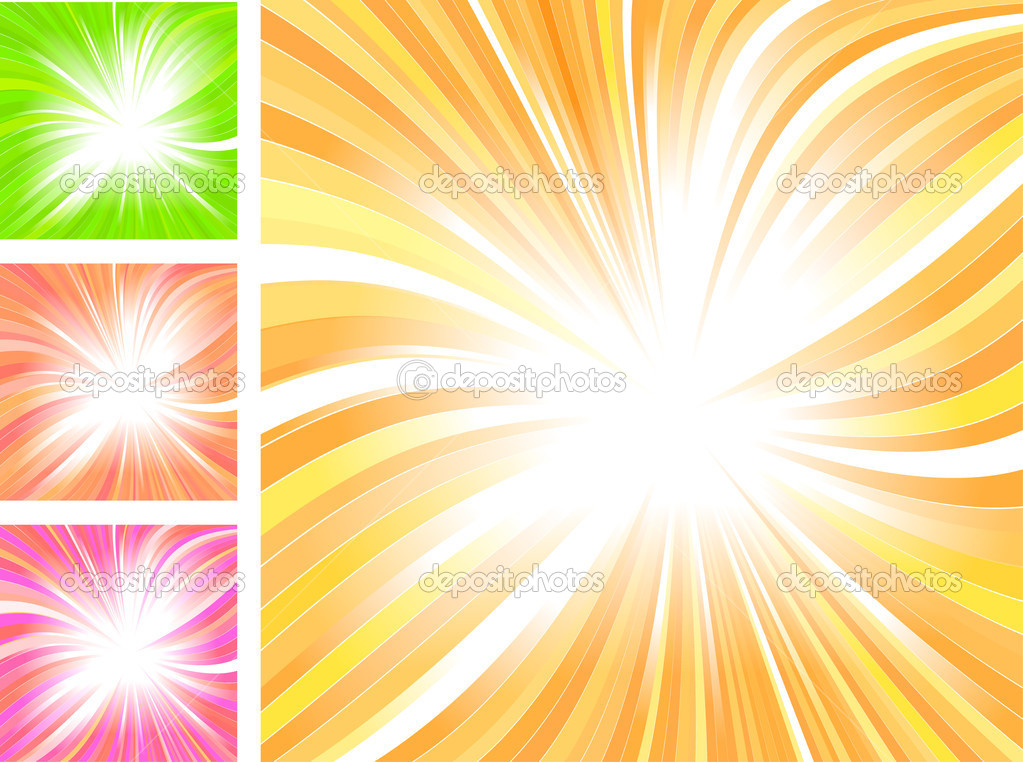 Beautiful glow, vector abstract background  Stockvectorbeeld #5351125