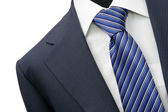 Suit detail on shop mannequins — Stock Photo